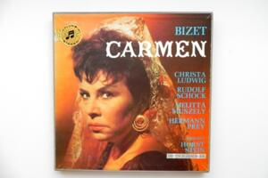 Bizet: Carmen / Dirigent Horst Stein (versione in tedesco) - Triplo LP 33 giri - Made in Germany