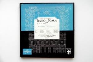 Puccini: Madame Butterfly  / Teatro alla Scala Milan - Karajan - Callas -- Triplo LP 33 giri - Made in France