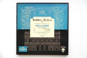 Ruggiero Leoncavallo: Paillasse  / Teatro alla Scala Milan - Maria Callas -- Doppio LP 33 giri - Made in France