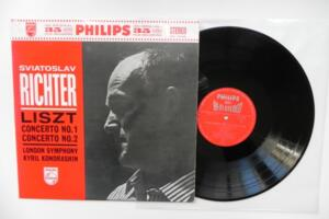 Liszt: Concerto No. 1 and No. 2 / Sviatoslav Richter / London Symphony - Kyril Kondrashin --  LP 33 giri - Made in Japan