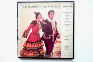 Rossini - Le Barbier de Seville / Callas / Philharmonia Orchestra and Choeurs  - A. Galliera -- Boxset 3 LP 33 giri - Made in France