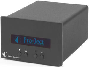 Pro-ject - Phono Box DS+ Black - Pre Phono MM/MC