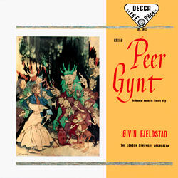 Grieg - Peer Gynt / The London Symphony Orchestra - Fjeldstad -- LP 33 giri 180 gr. Made in Germany