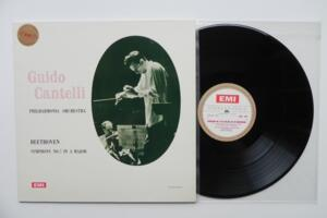 Beethoven: Symphony No. 7 in A Major / Philharmonia Orchestra - Guido Cantelli -- LP 33 giri 180 gr  - Made in England
