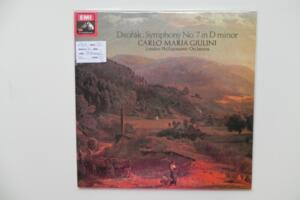 Dvorak: Symphony No. 7 in D minor / London Philharmonic Orchestra -Carlo Maria Giuliani -- LP 33 giri, 180 gr. - Made in England