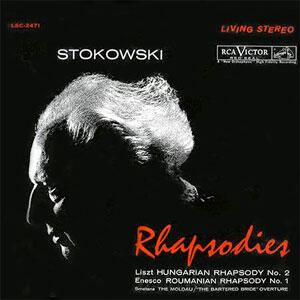Stokowski - Rhapsodies   --  SACD Ibrido Multicanale e Stereo - Made in USA