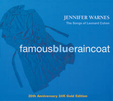 Jennifer Warnes - Famous Blue Raincoat  --  20th Anniversary 24K Gold CD Edition Made in USA