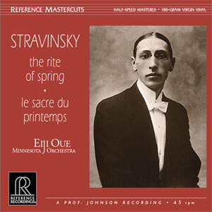 Stravinsky - The Rite of Spring  - Eiji Oue - Minnesota Orchestra  --  LP 45 giri vinile 180 gr Made in USA