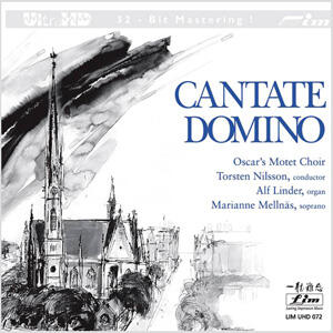 Oscar's Motet Choir - Cantate Domino   --  Ultra HD CD  Edizione Limitata SILVER LOGO