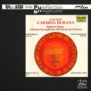 Orff - Carmina Burana   --  Limited Edition Ultra HD CD Silver Logo