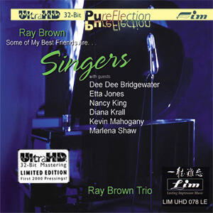 Ray Brown Trio - Some of My Best Friends Are... Singers  --  Limited Edition Ultra HD CD - Silver logo