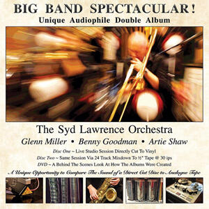 The Syd Lawrence Orchestra - Big Band Spectacular - 180g D2D 2LP & DVD
