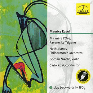 M. Ravel - Ma Mere l'Oye, Pavane, Le Tzigane - Netherlands Philharmonic Orchestra, Dir. Carlo Rizzi  --  LP 33 giri 180 gr.