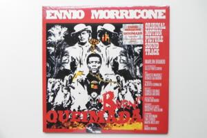 Queimada - Colona sonora originale / Ennio Morricone -- LP 33 giri - Made in Italy