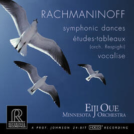 Eiji Oue - Rachmaninoff - Symphonic Dances  --  CD Made in USA