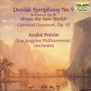 Dvorak - Symphony No.9 From the New World - Previn & Los Angeles Philharmonic Orchestra  --  CD Made in USA