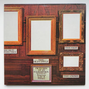 Mussorgsky PICTURES AT AN EXHIBITION / Emerson, Lake & Palmer --  LP 33 giri  - Made in Japan