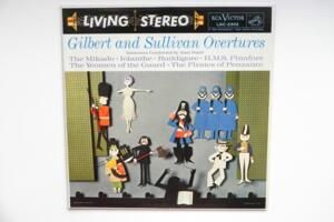 Gilbert and Sullivan: Overtures / Symphony Orchestra - Alan Ward -- LP 33 giri - Made in USA 1959