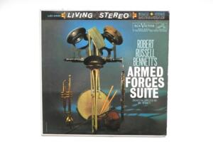 Bennet: Armed Forces Suite / RCA Victor Symphony and Symphonic Band - Dir. Mr. Bennet -- LP 33 giri - Made in USA