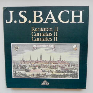 J.S. Bach - Kantaten II  / Kammerorchester Berlin conducted by Helmut Koch  --  Boxset 11 LP  33 giri - Made in Germany