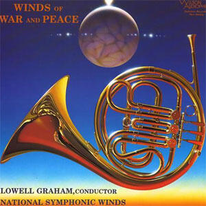Lowell Graham - Winds Of War And Peace  --  LP 33 giri 200 gr. Made in USA