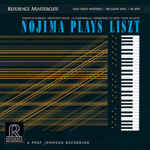 Minoru Nojima Nojima Plays Liszt  --   Doppio LP 45 giri vinile 180 gr. Made in USA - Half-Speed Mastered