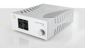 Gold Note - Preamplificatore Phono PH-10 - Disponibile in 3 differenti finiture : SILVER - NERO - GOLD