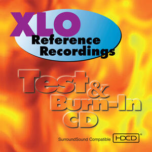 XLO Reference Recordings Test & Burn-In  --  CD HDCD