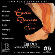Exotic dances from the Opera / Eiji Oue & Minnesota Orchestra  --  SACD Ibrido Made in USA