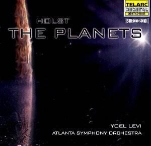Holst - The Planets - Atlanta Symphony Orchestra - Yoel Levi  -- CD