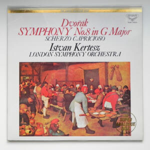 Dvorak: Scherzo Capriccioso / London Symphony Orchestra - Istvan Kertesz  --  LP 33 giri 180 gr - Made in Japan