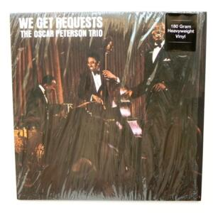 We Get Requests / The Oscar Peterson Trio  --  LP 33 giri  180 gr. - Made in Europe 2015