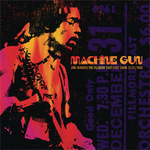 Jimi Hendrix - Machine Gun Jimi Hendrix The Fillmore East First Show 12/31/1969  --  Doppio LP 33 giri 180 gr Made in USA