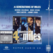 4 Generations Of Miles - A Tribute To Miles Davis   --  Hybrid Multi-Channel & Stereo SACD