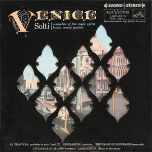 Venice - Orchestra of the Royal Opera House Covent Garden - Dir. Georg Solti  --  LP 33 giri 200 gr. Made in USA