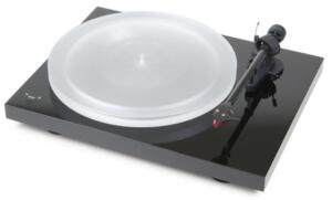 Giradischi Pro-ject Debut Carbon DC Esprit SB completo di testina ORTOFON 2M RED e Speed Box - Finitura Piano Black