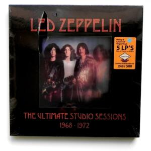 Led Zeppelin - The Ultimate Studio Sessions - 1968 / 1972  --  Boxset 5 LP 33 giri + 3 CD - Ed. Limitata e numerata (248 di 500)