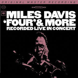 Miles Davis - Four & More - Recorded Live In Concert  --  Hybrid Stereo SACD Numbered Limited Edition Made in USA