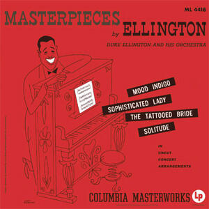 Duke Ellington - Masterpieces by Ellington  --  Doppio LP 45 giri vinile 200 gr. Made in USA