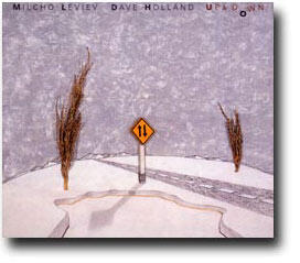 Up & Down - Milcho Leviev and Dave Holland  --  CD Made in USA - SEALED