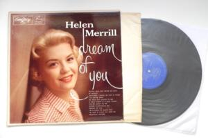 Helen Merrill - Dream of You  --  LP 33 giri Made in USA 1956