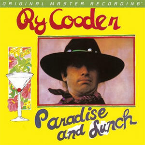 Ry Cooder - Paradise and Lunch   --  LP 33 giri 180 gr. - Numbered Limited Edition Made in USA