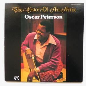 THE HISTORY OF AN ARTIST / Oscar Peterson  --  Doppio LP 33 giri  - Made in Japan
