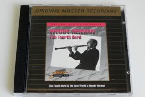 Woody Herman - The Fourth Herd & The New World of Woody Herman  --  CD GOLD Made in USA