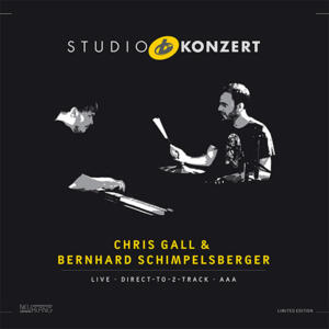 Chris Gall - piano Bernhard Schimpelsberger - drums, percussion - Studio Konzert  --  LP 33 giri 180 gr. Ed. Limitata numerata