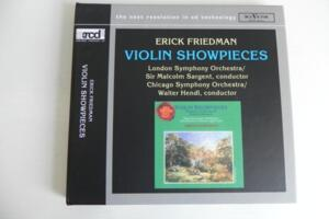 Erich Friedman - Violin Showpieces  --  XRCD2 Made in Japan - RARO fuori catalogo