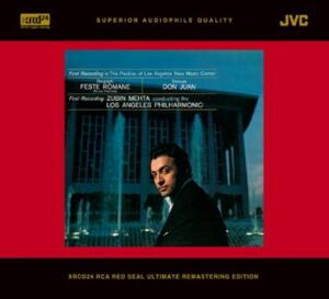 Respighi - Feste Romane / Strauss - Don Juan  -  Zubin Mehta & Los Angeles Philharmonic  --  XRCD24 Made in Japan