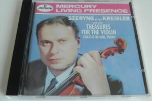 Szeryng Plays Kreisler and Other Treasure for Violin - Charles Reiner, piano  --  CD 1995