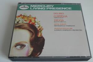 Dlibes - Coppélia complete ballet - Antal Dorati & MSO /  Sylvia ballet in three acts - Antal Dorati & LSO  --  Boxset 3 CD