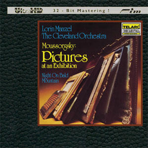 Moussorgsky - Pictures At An Exhibition - Night on Bald Mountain - Lorin Maazel & Cleveland Orchestra  --  CD ULTRA HD 32 bit Mastering Made in USA